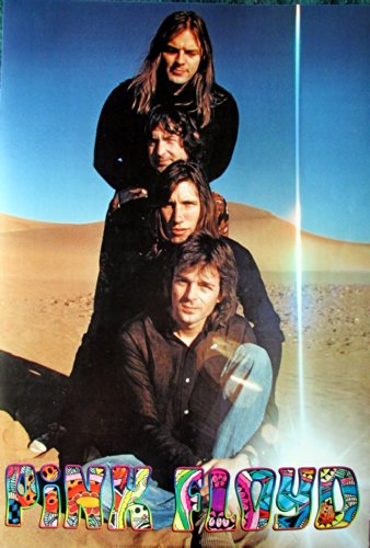 Pink Floyd desert stack Poster higher qual Roger Waters early 70s sent From USA