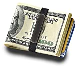 DiamondJewelryNY Money Band, Grand Band Annodized Aluminum plaque Money Band (BLACK)