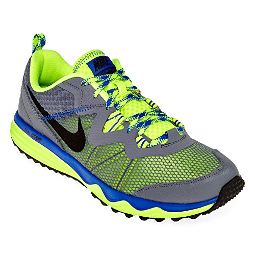 Nike Trail Shoes (Nike Dual Fusion Trail Running Shoes Blue Grey)
