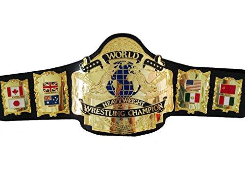 Fandu Belts Adult Andre 87 Wrestling Title Belt 8mm Thick 6.5lbs Trophy by Fandu Belts