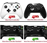 eXtremeRate® Green Weeds Leaves Soft Touch Grip Front Housing Shell Faceplate for Standard Xbox One Controller ( Fits Both with 3.5mm Port and without 3.5 mm Port)