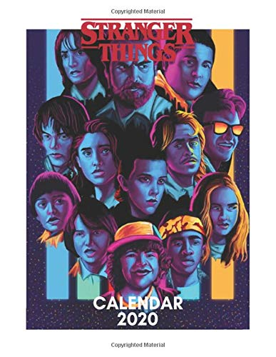 Stranger Things Calendar 2020 por Kate Laurel