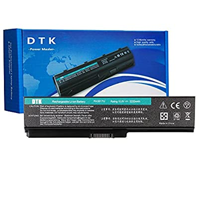 Dtk New Laptop Notebook Battery For Toshiba Computer PA3817U-1BRS PA3817U-1BAS PA3818U PA3819U-1BRS Select Models from Dtk