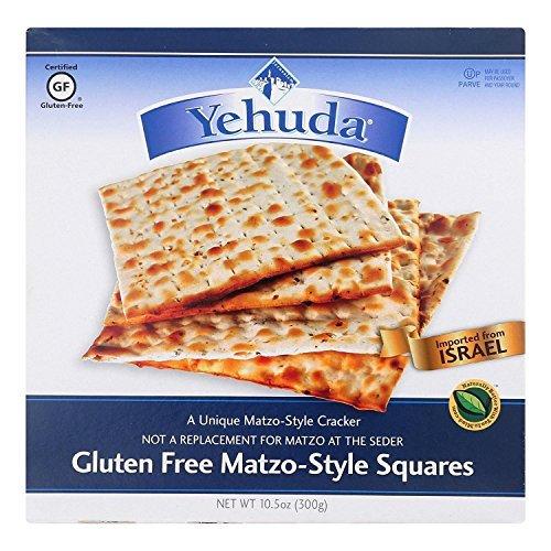 Yehuda Gluten Free Matzo Squares, 10.5 Ounce - 12 per case