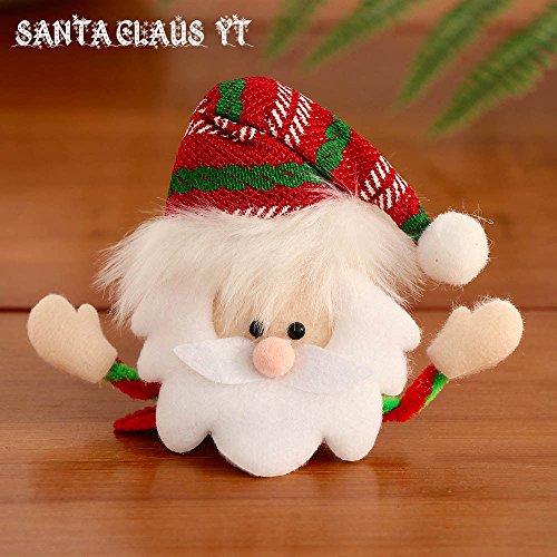 Bambino Natale Babbo Bambino Vestire Di Natale Capelli Clip Babbo Tornante Luminoso Natale Barrette Capelli Fw4IgYqIx