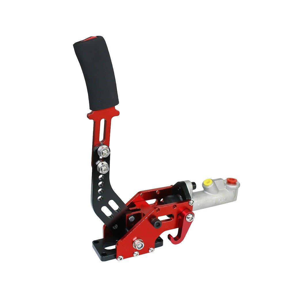 Universal Car Hydraulic Handbrake Racing Handbrake Drift Rally E Brake Brake Parking Color Red QIKE