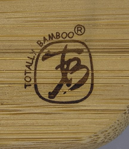 Totally Bamboo Large French Style Tapered Rolling Pin, Beautiful Inlay of Contrasting Color Measuring 20 1/2'' in Length; Made from 100% bamboo; Light, Durable & Super Strong- Perfect for Pastry Making by Totally Bamboo (Image #5)