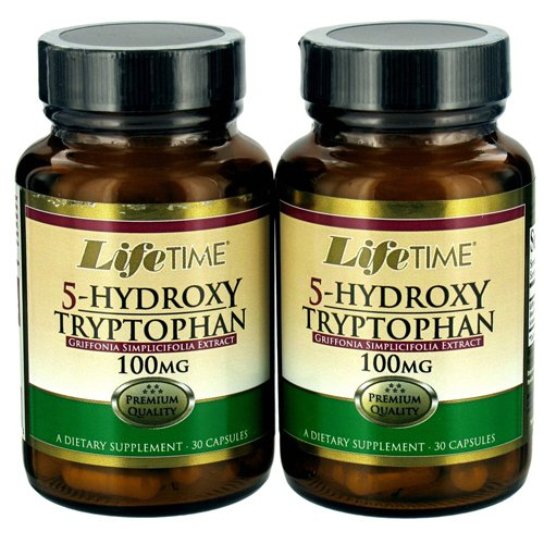 100 Mg Twin Pack - 5-Hydroxy Tryptophan (30+30) Twin Pack 100 mg - 60 Capsules