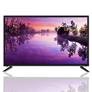 Mugast 43 Inch LCD TV,19201080P HDR WiFi/USB/HDMI/RF Antenna/AV/RJ45 Smart Home Television Display Screen with Image Noise Reduction Processing Scheme Function for PC(US)