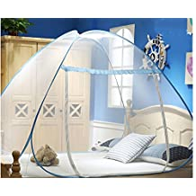 LECHEERS Pop Up Mosquito Net For Bed Adult Double Bed Netting Tent Canopy