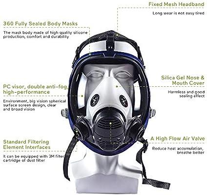 3m aktivkohle maske