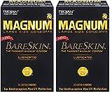Trojan Magnum Bareskin KtIlE Lubricated Condoms, 10 Count (2 Pack) RTnOh