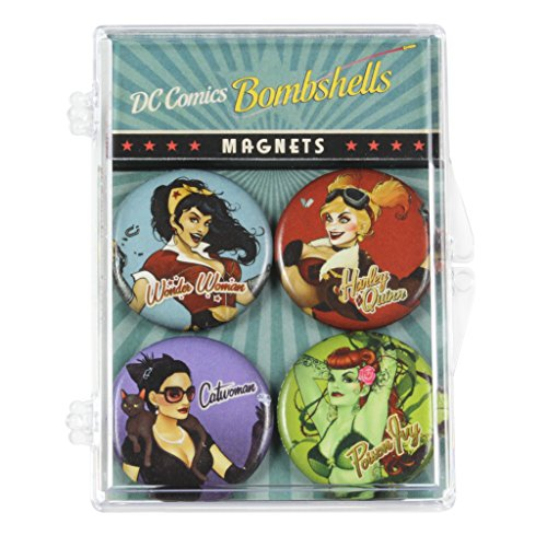 The Coop DC Comics Bombshells Magnets (Collectible Magnet)