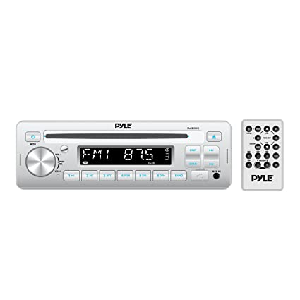 Pyle Stereo Radio Headunit Receiver, CD Player, USB/MP3 Reader, Aux (3 5mm)  Input, AM/FM Radio, Single DIN (PLCD3MR)