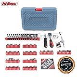 Hi-Spec 126 Piece Driver Bits, Sockets & Handles