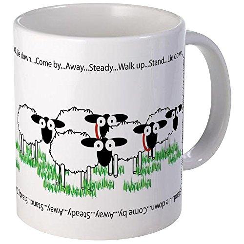 - CafePress Working Border Collie & Sheep Mugs Unique Coffee Mug, Coffee Cup