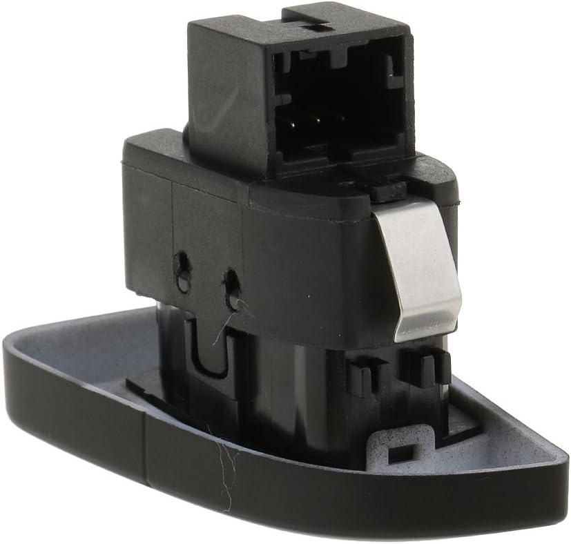 Trasero 2pcs Bot/ón de Interruptor de Pestillo Cerradura de Puerta Izquierda para Audi A4 A4L B8 Delantero