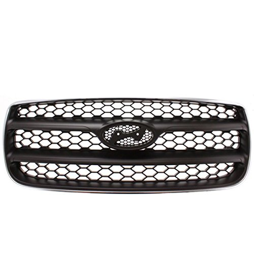 (Front Grill Grille Assembly Chrome Frame HY1200146 865602B010 For 07-09 Santa Fe)