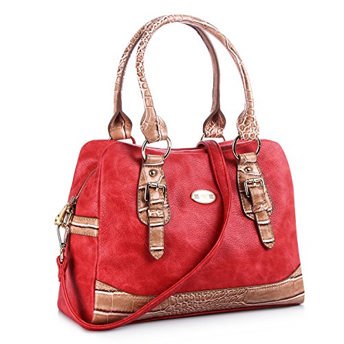 Women Handbags Bags F Top B Bag Cream big Leather 100 red Bag Bag red Tote For Bag Shoulder First Rope Cream Women Y And Bag Pu Satchel Shoulder Handmade CqnE85x51d