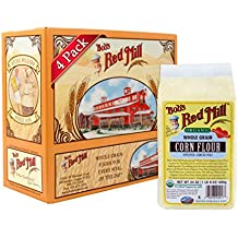Bob's Red Mill Organic Corn Flour, 24 Ounce (Pack of 4)