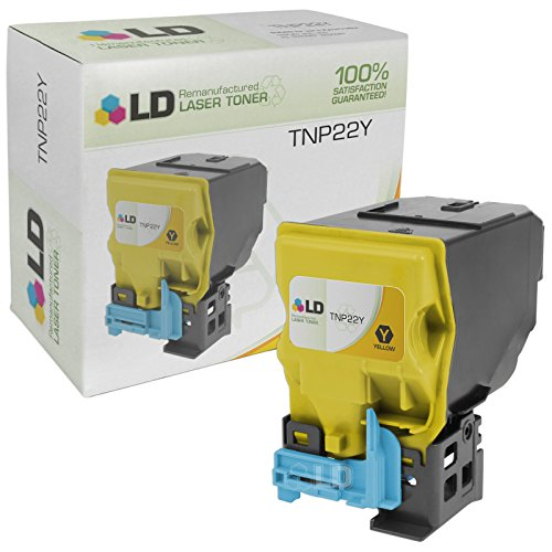 (LD Remanufactured Toner Cartridge Replacement for Konica Minolta TNP22Y A0X5232 (Yellow))