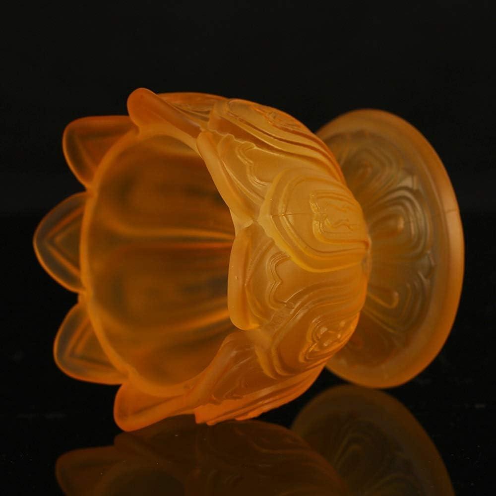 Tisch 15CM Petroleumlampe Winddichtes Glas /Öllampe beweglicher Nachtlicht ousehold Kerzenhalter Schreibtisch Licht traditionelle Mittelmeer-Nostalgie Buddhist /Öllampe Fl/üssige Butter-Lampe for Hallo