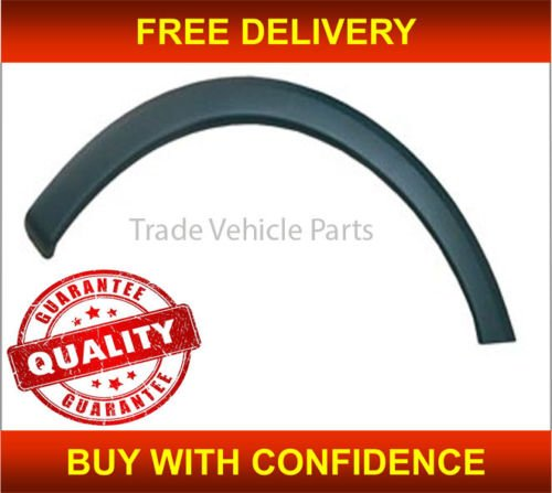 Trade Vehicle Parts OP1003 Front Wing Arch Plastic Trim Moulding Passenger Side