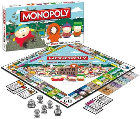 Amazon Com Monopoly South Park Collector S Edition Toys Games