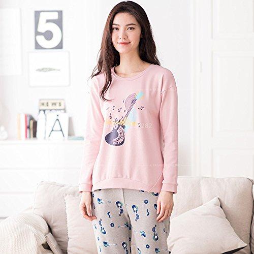 7ec869fb3d Amazon.com: MH-RITA Sales Autumn Winter Cotton Long Sleeved Women'S Pajama  Set Pijamas Mujer Lady Sleepwear Xxl Casual Night Suit Plus Size  Pyjama,27570,Xl: ...