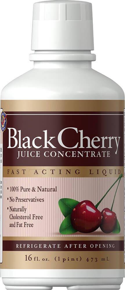 Black Cherry Concentrate Good 'N Natural 16 oz Liquid