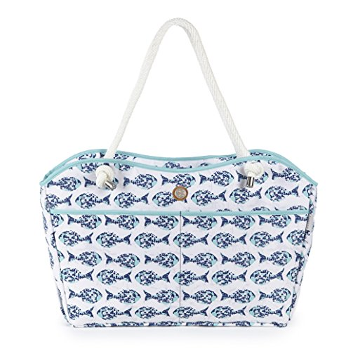 fivesse-beach-tote-minnow-pattern-custom-designed-protective-pockets