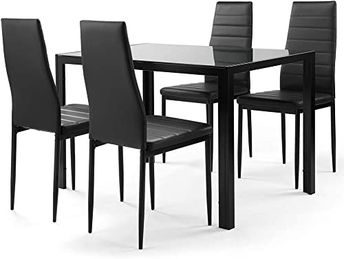 Ammy 5 Pieces Dining Table Set,Dining Room Table Set