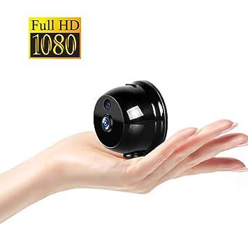 OMZBM 1080P HD 360 ° Girar Wireless WiFi Mini Cámara Smart Home Portátil Pequeña App Cámara