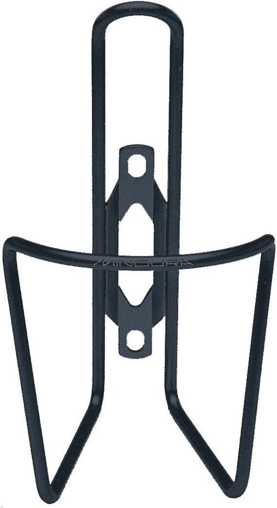 Minoura - Soporte para bidones de Bicicleta (4,5 mm) Negro Negro ...