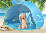 Medano's Portable Baby Beach Tent with Pool - Pop Up Shade Canopy with UV Protection - Sun Shelter for Infant