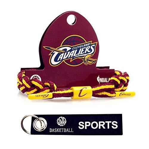 APAYL Basketball Bracelet Wristband-Hand-Knitted Adjustable Bracelet
