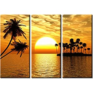 51nS401gwUL._SS300_ Best Palm Tree Wall Art and Palm Tree Wall Decor For 2020