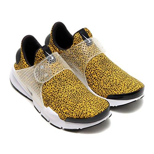 best cheap 3d989 11c95 Nike Men Sock Dart Qs Safari Pack yellow university gold black-white Size  12.0 US