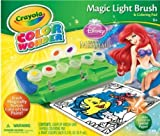 Crayola Color Wonder Magic Light-up Brush Little Mermaid Ariel Disney