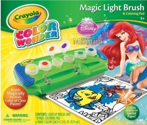 Crayola Wonder Light up Little Mermaid