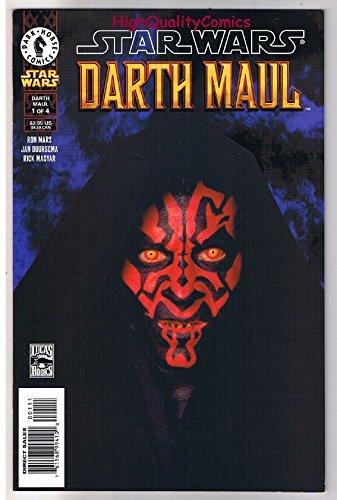 STAR WARS DARTH MAUL#1, VF/NM, Sith, Jedi, Ron Marz ,2000, more SW in - Jim Maul