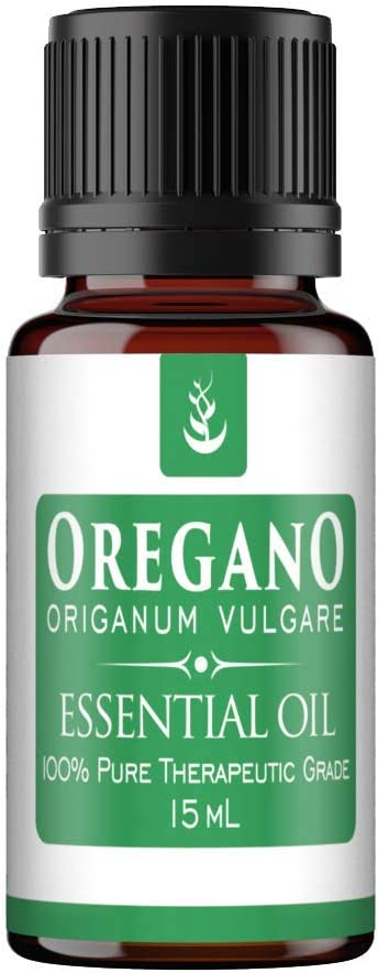 Pure Oregano Essential Oil (15 ml), Convenient Dropper Cap Bottle, Food Safe, Cooking Spice, Powerful Cleansing Agent, & High in Antioxidants
