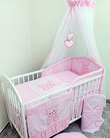 Baby Kinderzimmer Set   Baby Kinderzimmer 12 Teiliges Bettwasche Set Fur 120 X 60 Cm Fur