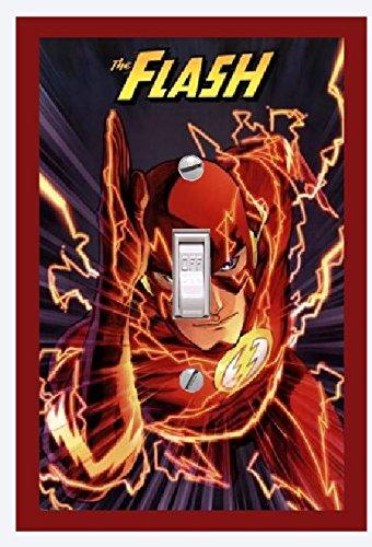The Flash Decor Flash Lightswitch Cover Flash Room Decor
