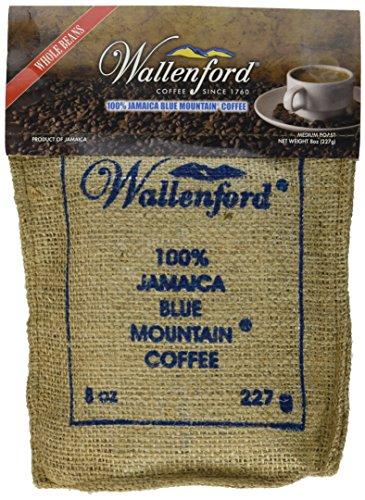 Wallenford Roasted Whole Bean Jamaica Blue Mountain Coffee, 8oz bag