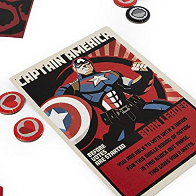 Hail Hydra, MARVEL Hero Board Game for Teens and Adults Aged 14 and Up: Toys & Games
