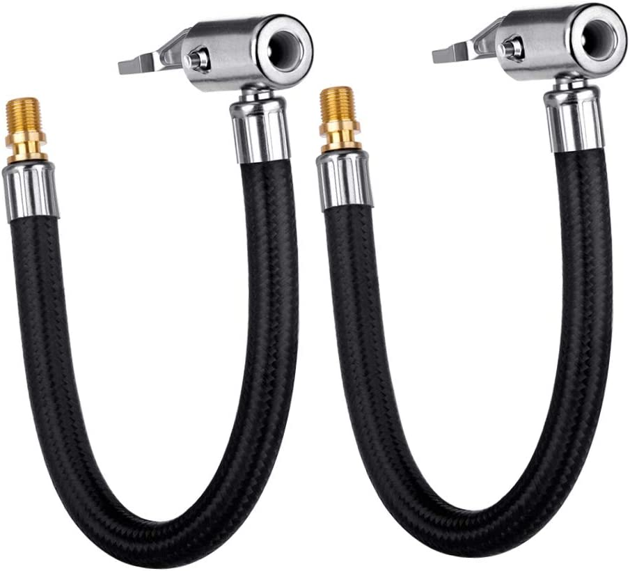 Lumiteco 2-Piece Locking Air Chuck With Hose