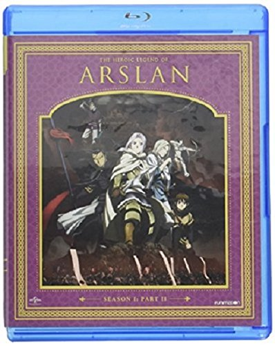 The Heroic Legend of Arslan: Season One, Part Two (Blu-ray/DVD Combo)