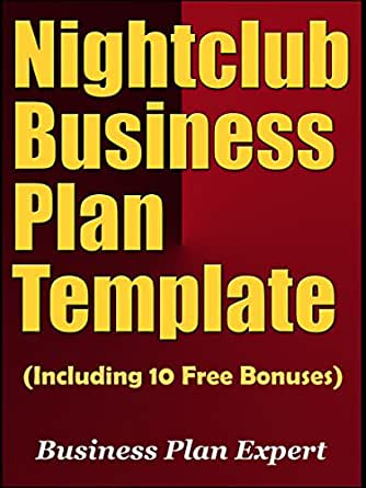 Amazon nightclub business plan template including 10 free kindle price 499 fbccfo Choice Image