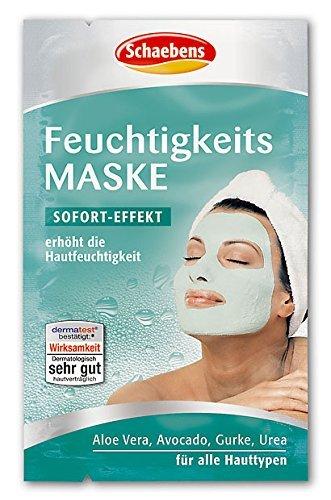 Schaebens Moisturising Mask (10x 10 ml) by HealthMarket by HealthMarket 10ml Mask